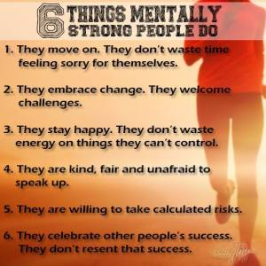 6 thing strong people do