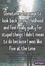 look back on childhood