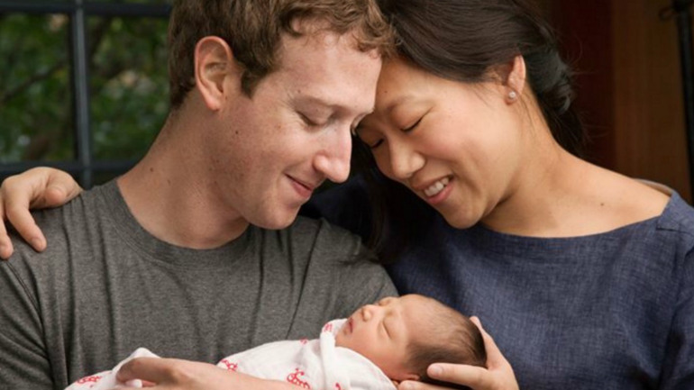 Mark Zuckerberg reveals birth of daughter, plans to donate $45 billion in Facebook stock