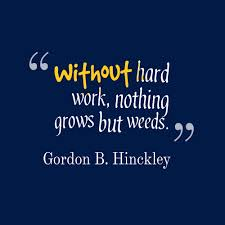 without hard work