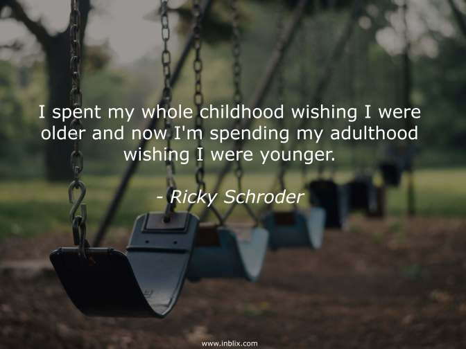 Parents Raise Your Child Through Childhood, Then Rely On Your Child When They Reach Adulthood