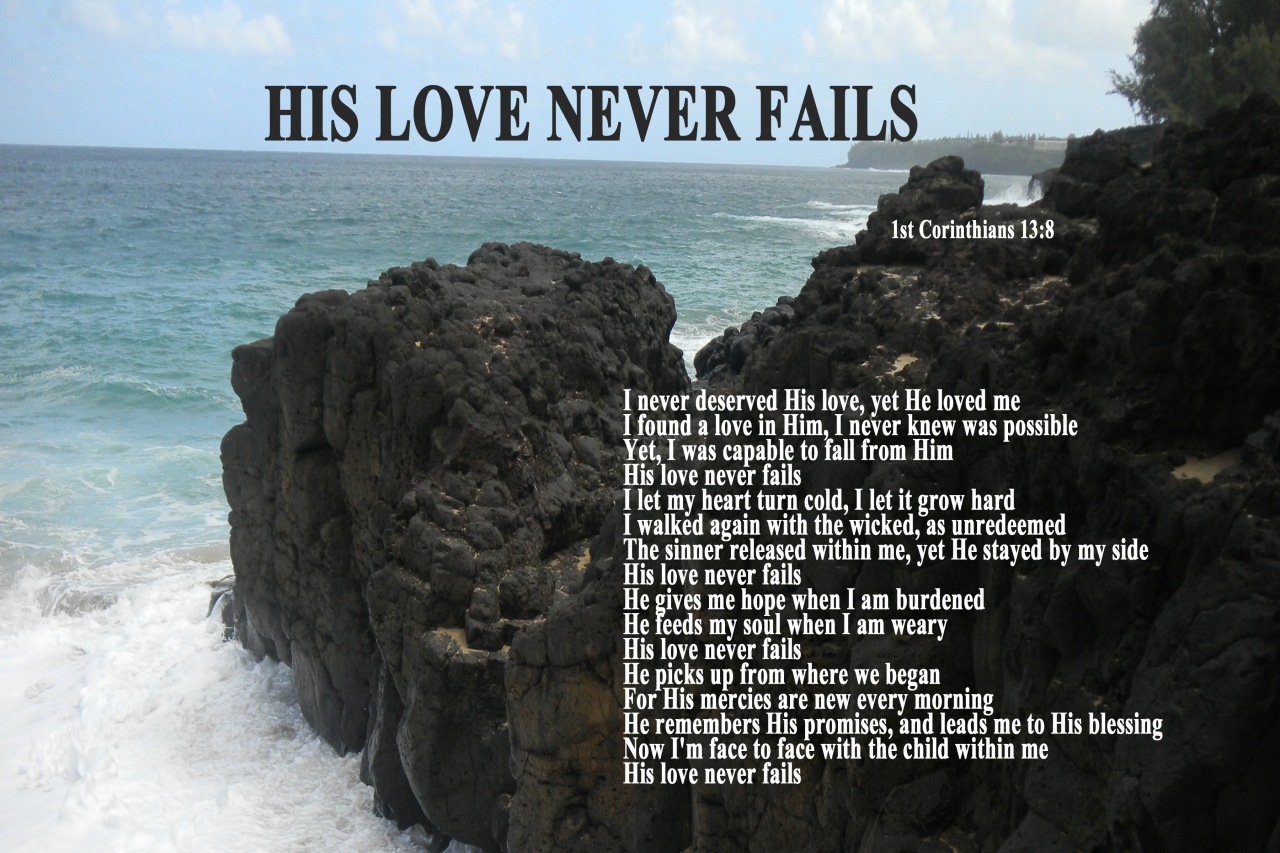 Even Jesus fell short of perfect love