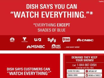 Dish Network customers lose