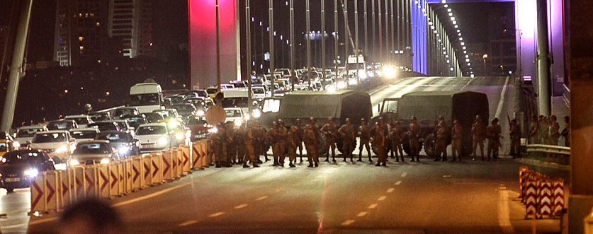 BREAKING NEWS: Military coup underway in Turkey. Apparently seeking to bring down Islamist government led by Erdogan. Here's what we know at this hour.