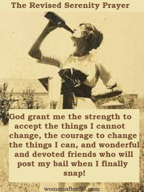 The Revised Serenity Prayer