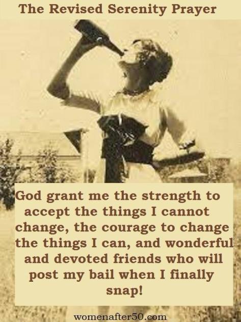 The Revised Serenity Prayer