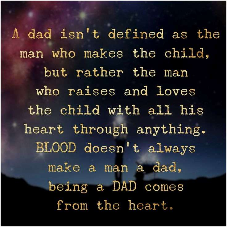 any man can father a child but